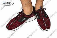 Мужские кроссовки красные (Код: М-19)