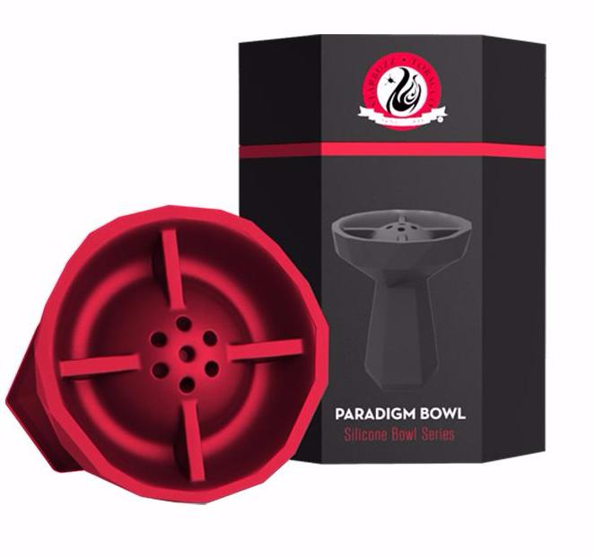 Чаша силиконовая Starbuzz Paradigm Bowl, красная