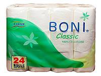 PRO service BONI Classic туалетная бумага в рулонах, 2 слоя, 24 шт.