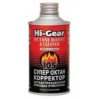 Hi-Gear Супероктан-корректор (антидетонация, присадка-очиститель), 325мл