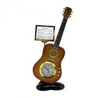 Часы Гитара 18 см маленькие