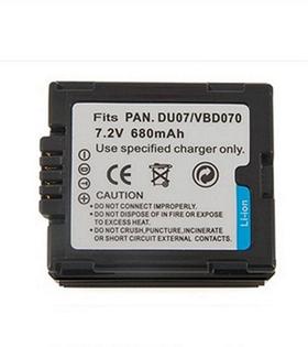 Акумулятор Panasonic CGA-DU07/VW-VBD070 (Digital)