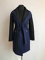Модное женское качественное пальто с поясом
