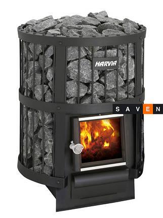 Дровяная печь для сауны (каменка) Harvia Legend 150 SL ч/з стену, фото 2