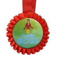 Медаль прикольная LADY BOSS