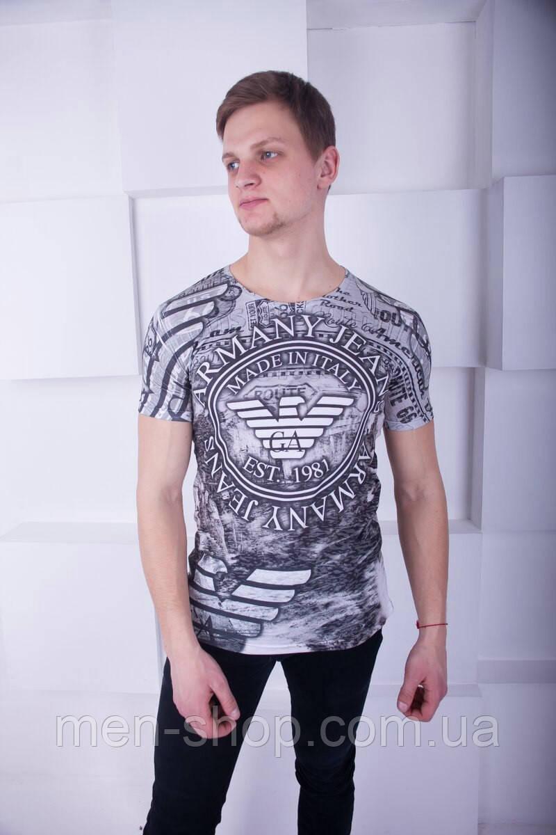 509f1717f100 Удобная мужская футболка Armani Jeans: продажа, цена в Харькове. футболки и  майки ...