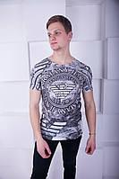 Удобная мужская футболка Armani Jeans М
