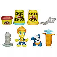 """Hasbro Игровой набор """"Житель и питомец"""", Play-Dox Town"""