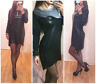 Женское свободное платье кожа с хвостом