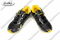 Детские кроссовки черно-желтые (Код: WF 15-630), фото 1