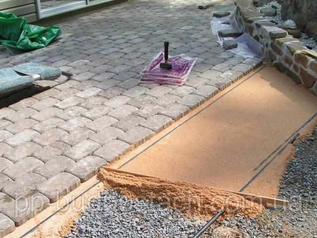 Процес виготовлення тротуарної плитки