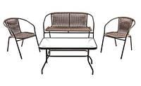 Комплект мебели из искусственного ротанга MARIA