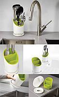 Сушилка-органайзер для кухонных принадлежностей Cutlery Drainer and Organiser, фото 1