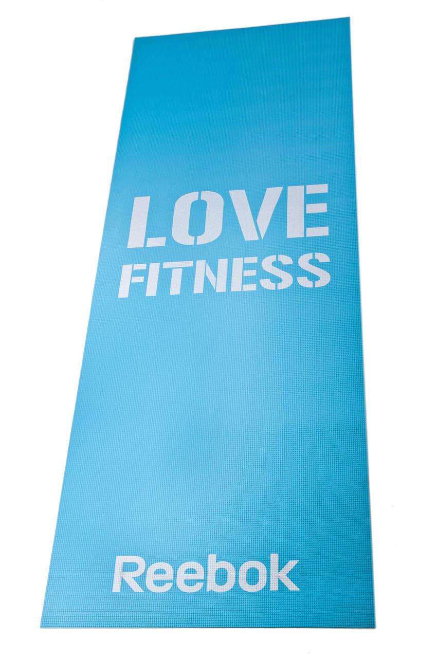 Коврик для фитнеса и йоги Reebok RAMT-11024BLL 1730x610x4мм