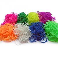Резиночки для плетения 200 шт однотонные