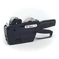 Этикет пистолет однострочный Open C8