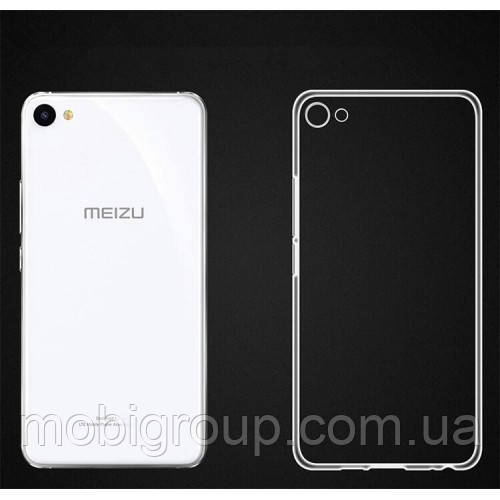 Чехол силиконовый прозрачный для Meizu U20, 0.5mm