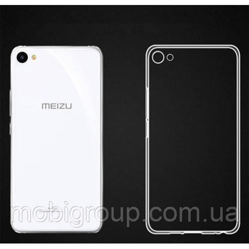 Силиконовый чехол 0,3 мм Meizu U20