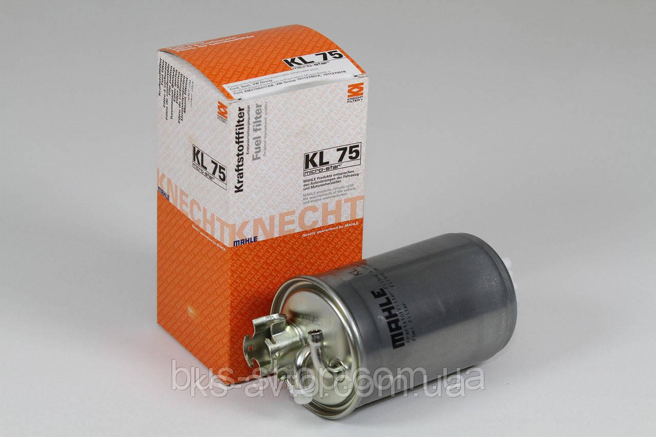 Фильтр топливный Knecht (Mahle Filter) KL 75 1H0127401C