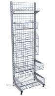 Прикассовый стеллаж Wiko (Вико). Торговое оборудование для магазинов.