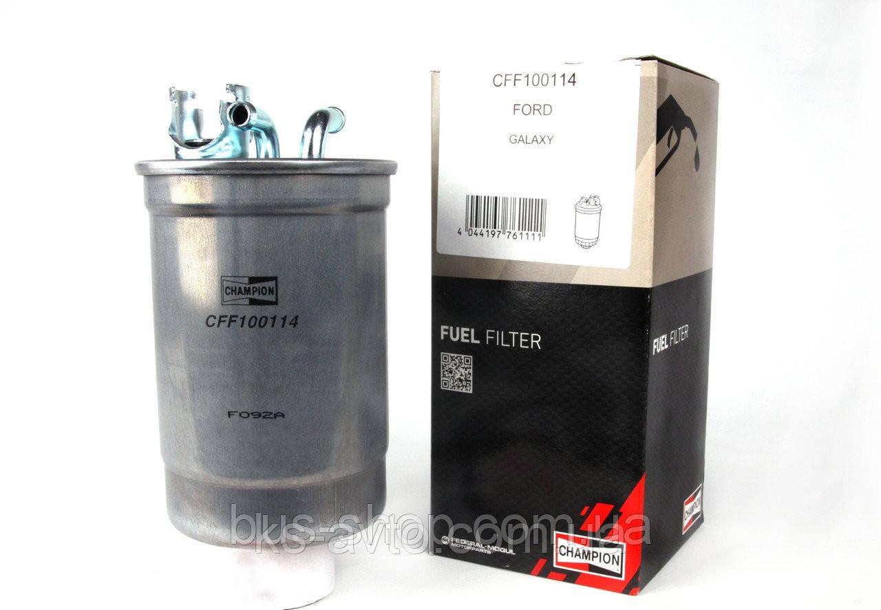 Фильтр топливный CHAMPION CFF100114 VW T4 1.9-2.5TDI (KL 75, KL180) 1H0127401C