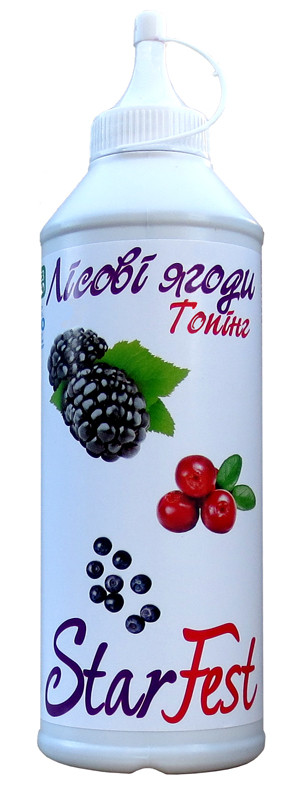 Топпинг StarFest Лесные ягоды 600 гр