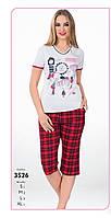 Пижама женская  капри (ЛЕТО) 3526