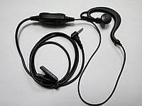 Гарнитура с заушиной для радиостанций Motorola серии TLKR