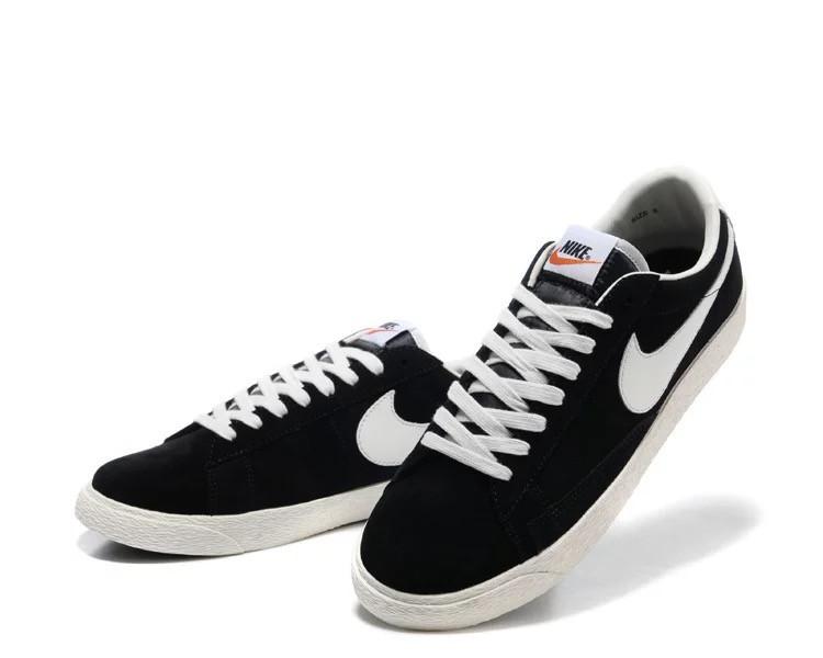 Кеды Nike Blazer Low Black Черные мужские