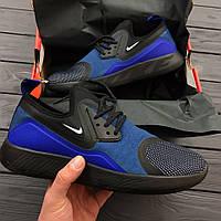 Кроссовки Nike Lunarcharge Essential Blue . Живое фото. Топ качество! (Реплика ААА+)