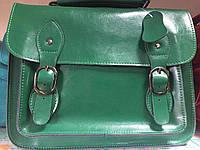 Кожаная сумка портфель из натуральной кожи