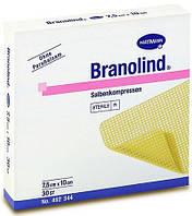 Branolind мазевая повязка стерильная, 7,5 х 10 см, 30 штук в упаковке