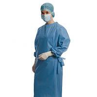 Foliodress Comfort Perfect - халат из нетканного материала  (н/cт) голубые. 10 штук в упаковке