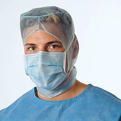 Маски для операционной  Valamask, на рот и нос с резинкой. 100 штук в упаковке