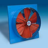 Промышленный осевой настенный вентилятор BVN BSMS 350, Турция