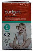 Подгузники Budget 5 58шт  Дания (памперсы Дания)