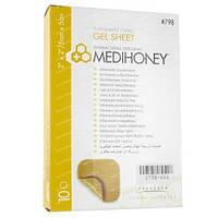 Medihoney Gel Sheet (Гелевая Повязка с антибактериальным Медом). Размер 5 х 5 см.
