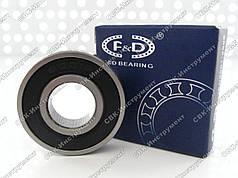 Підшипник F&D 6001RS (12х28х8 мм)