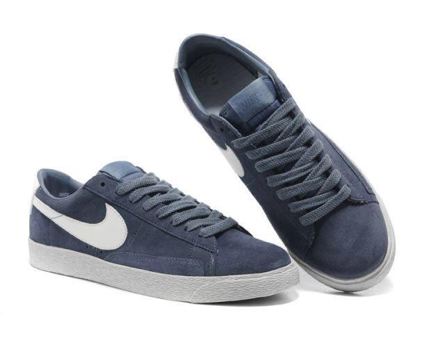 Кеды Nike Blazer Low Dark Gray Серые мужские