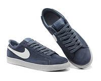 Кеды Nike Blazer Low Dark Gray (Серые)