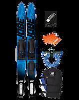 """Водные лыжи + воднолыжный комплект Jobe Allegre Blue Pack. 67"""""""