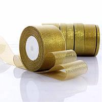 Лента золотая 40 мм