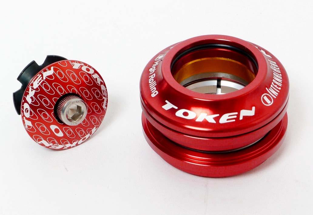 Рулевая Token TK011A, полуинтегрированная, красная