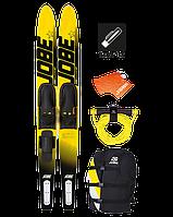 Водные лыжи + воднолыжный комплект Jobe Allegre Yellow Pack