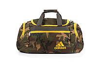 Мужская спортивная сумка Adidas камуфляж