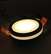 Светодиодный декоративный светильник RIGHT HAUSEN Ring 5W 4000K хром Код.58851, фото 2