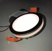 Светодиодный декоративный светильник RIGHT HAUSEN Ring 5W 4000K хром Код.58851, фото 3
