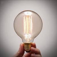 Лампа Эдисона G 80. 40W 19 якорей
