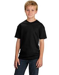 Футболка KLP Kids черная 160/м²