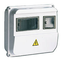 Корпус пластиковый ЩУРн-П 1/3 для 1-ф счетчика навесной 220х270х110 IP55, IEK (MSP103-1-55)